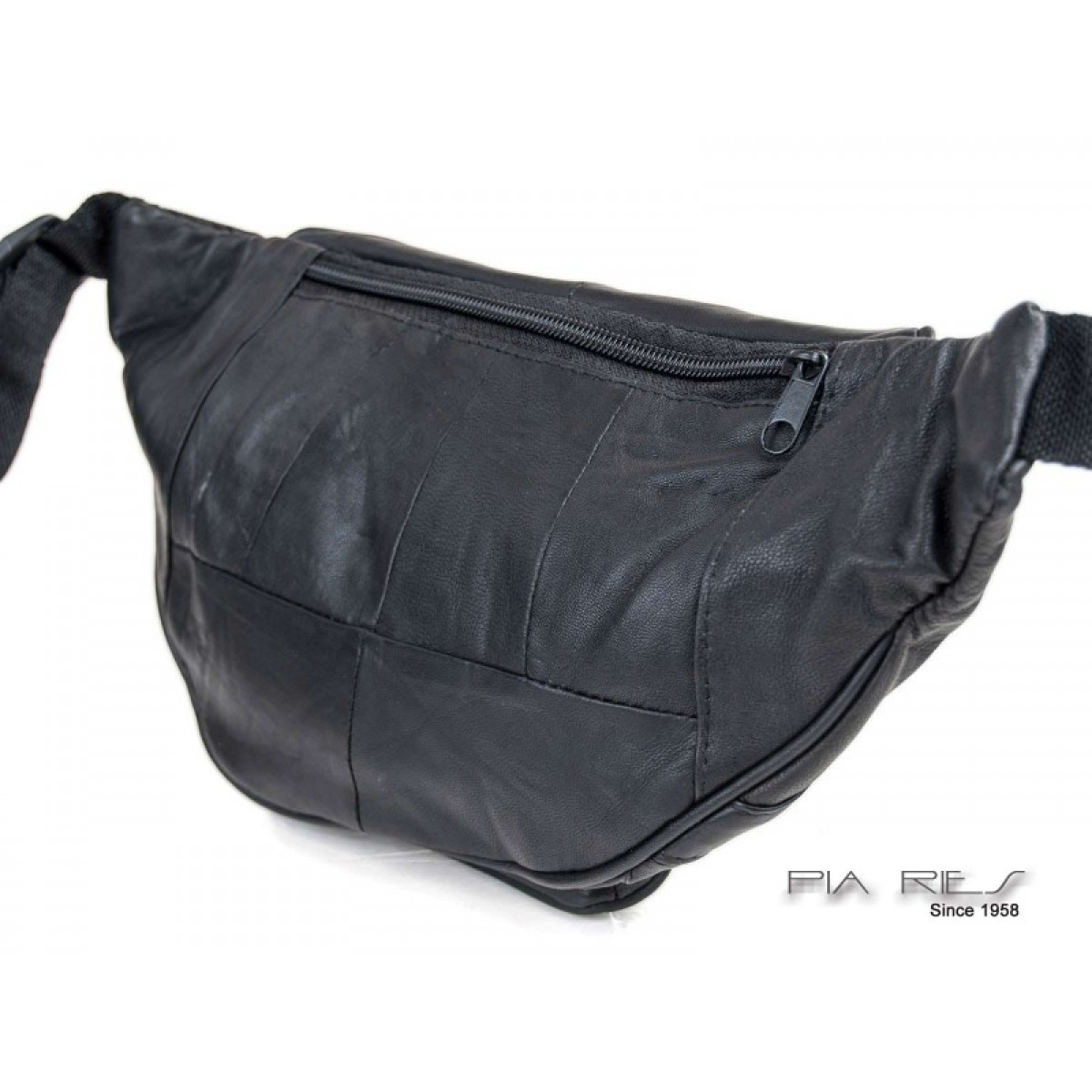 Bæltetaske med lynlåslommer-31