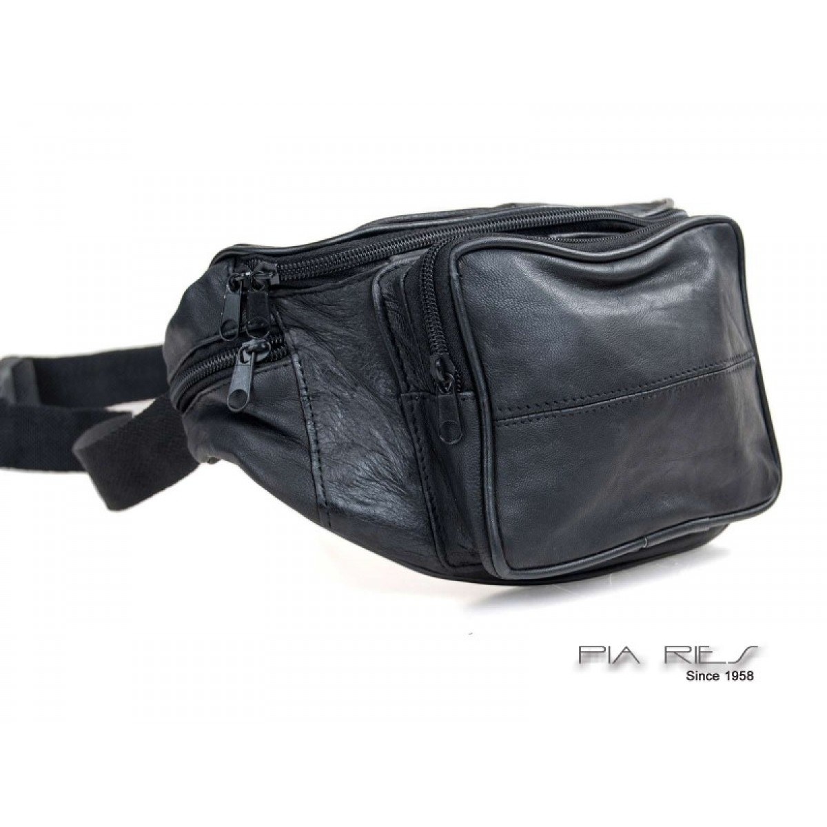 Bæltetaske med stor udvendig lynlåslomme-31