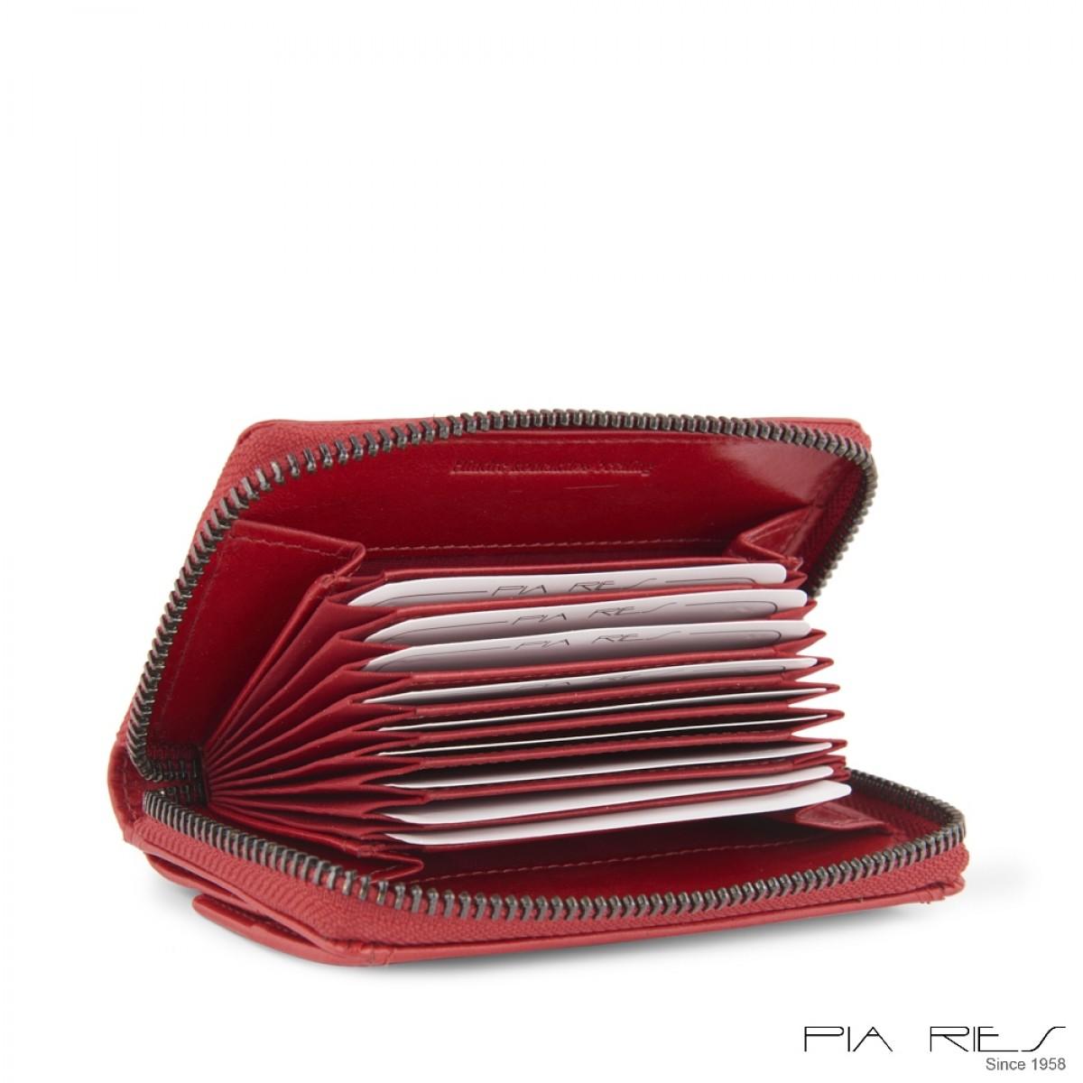 Damepung til kort og stort mønterum-Rød-33