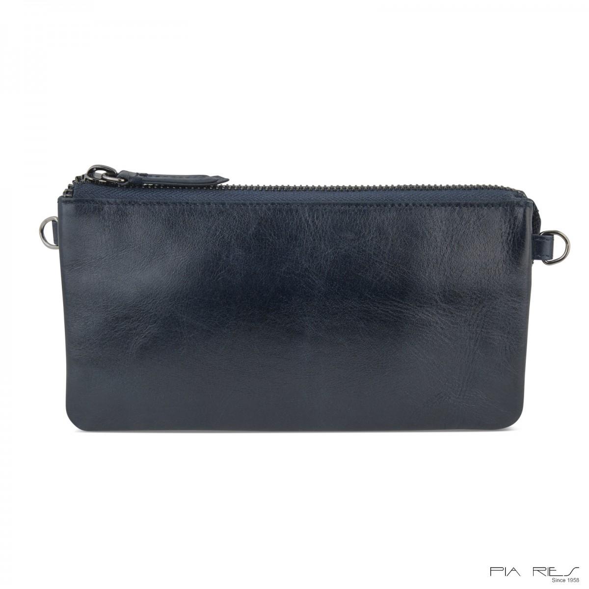 Clutch taske i crunch skind-32