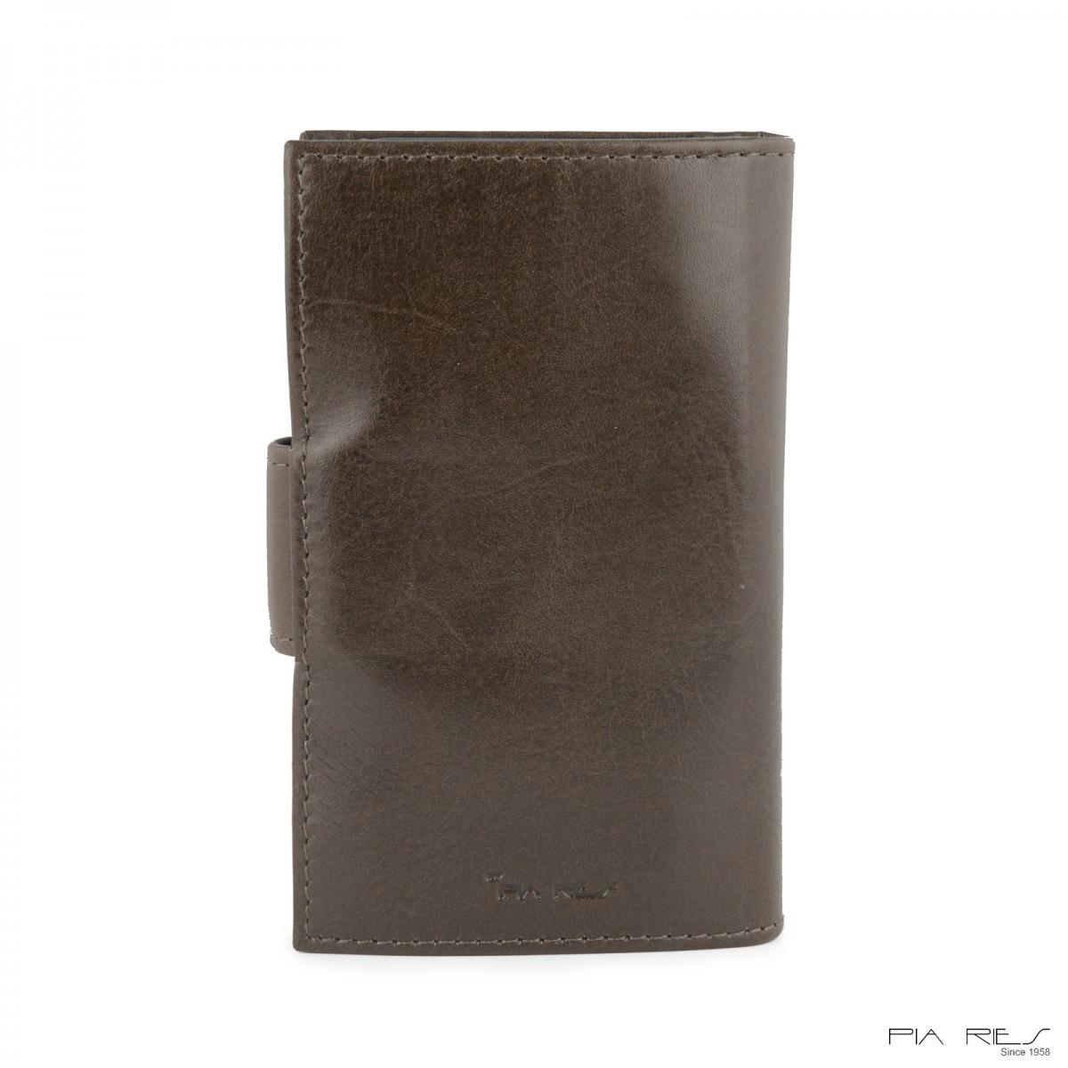 I-phone 5 lædercover-Gråbrun-33