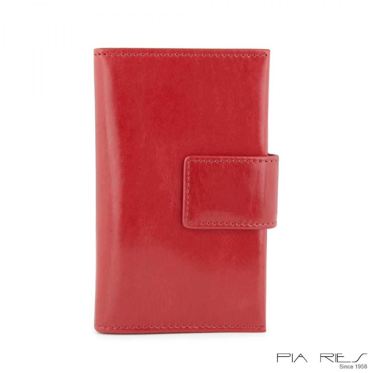I-phone 5 lædercover-Rød-34