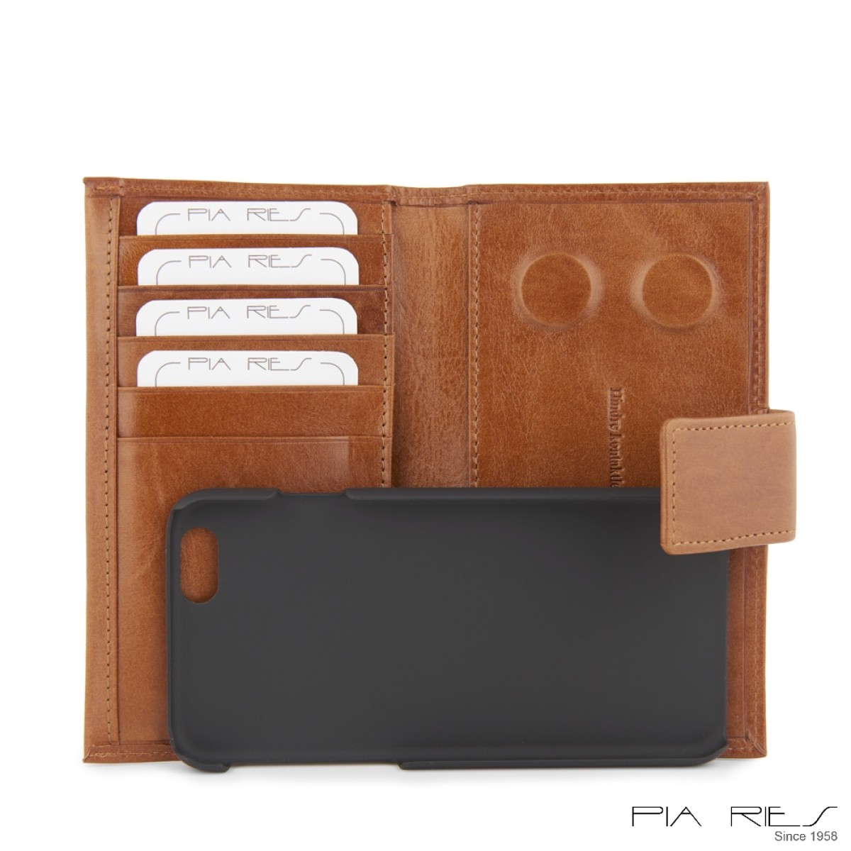 I-phone 5 lædercover-Cognac-34