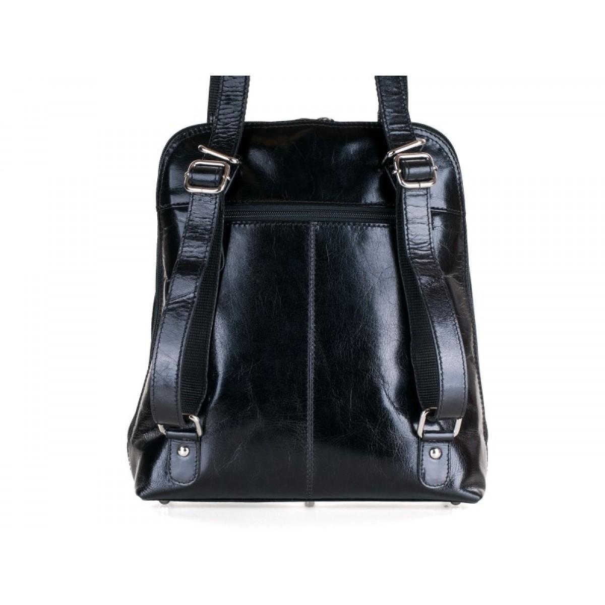 Combi rygsæk i sort-35