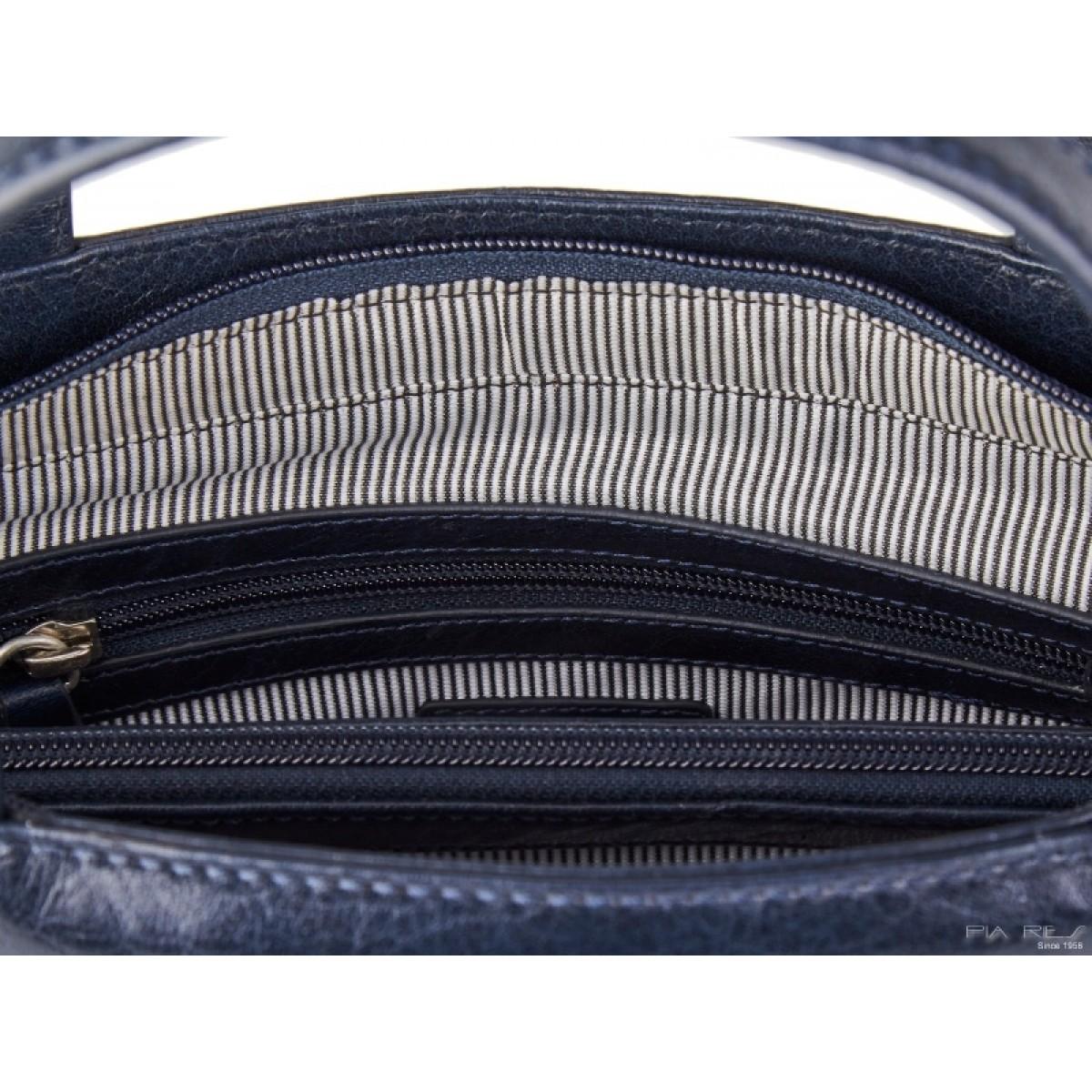 Lille håndtaske i mørkeblå-31