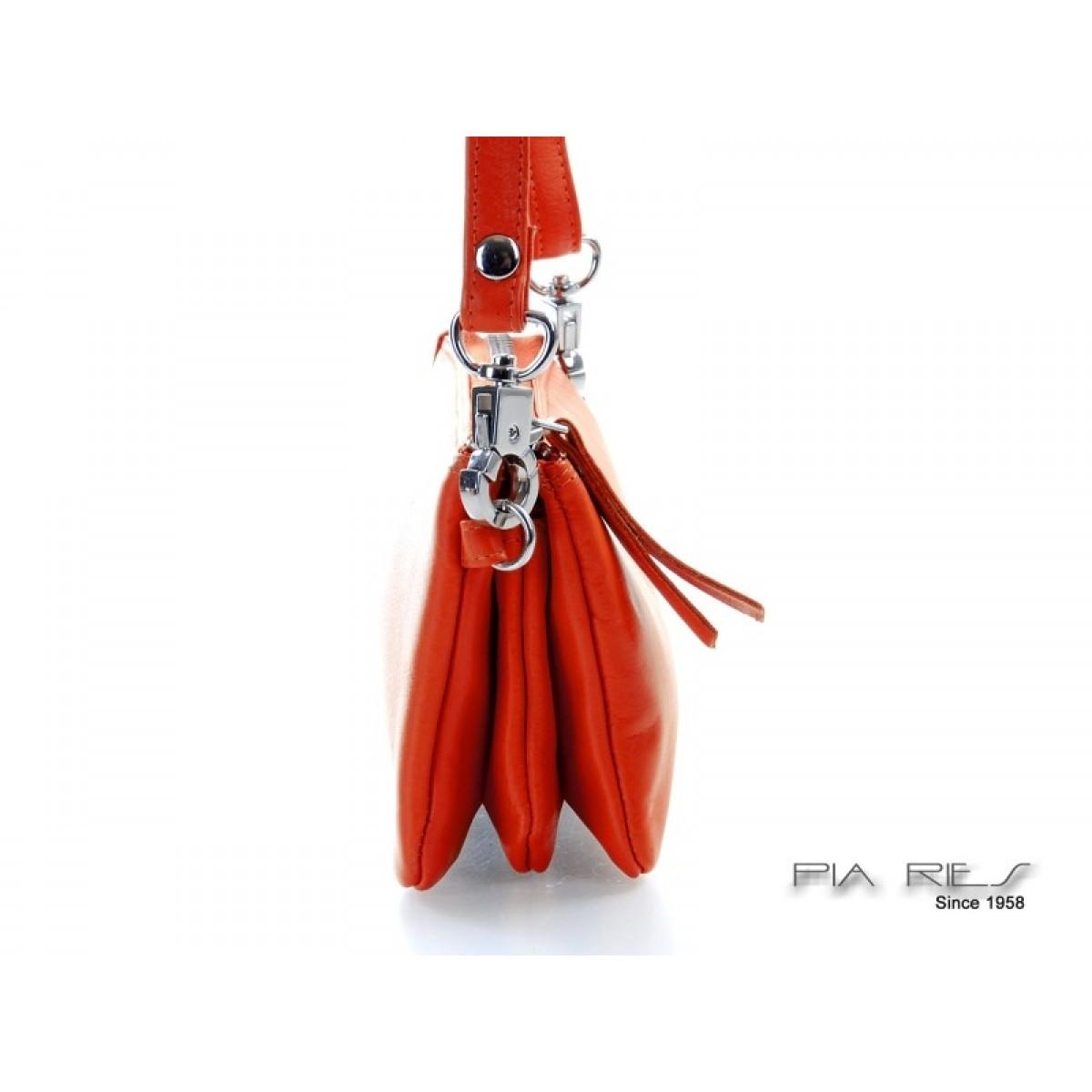 Skindtaske i flotte farver orange-31