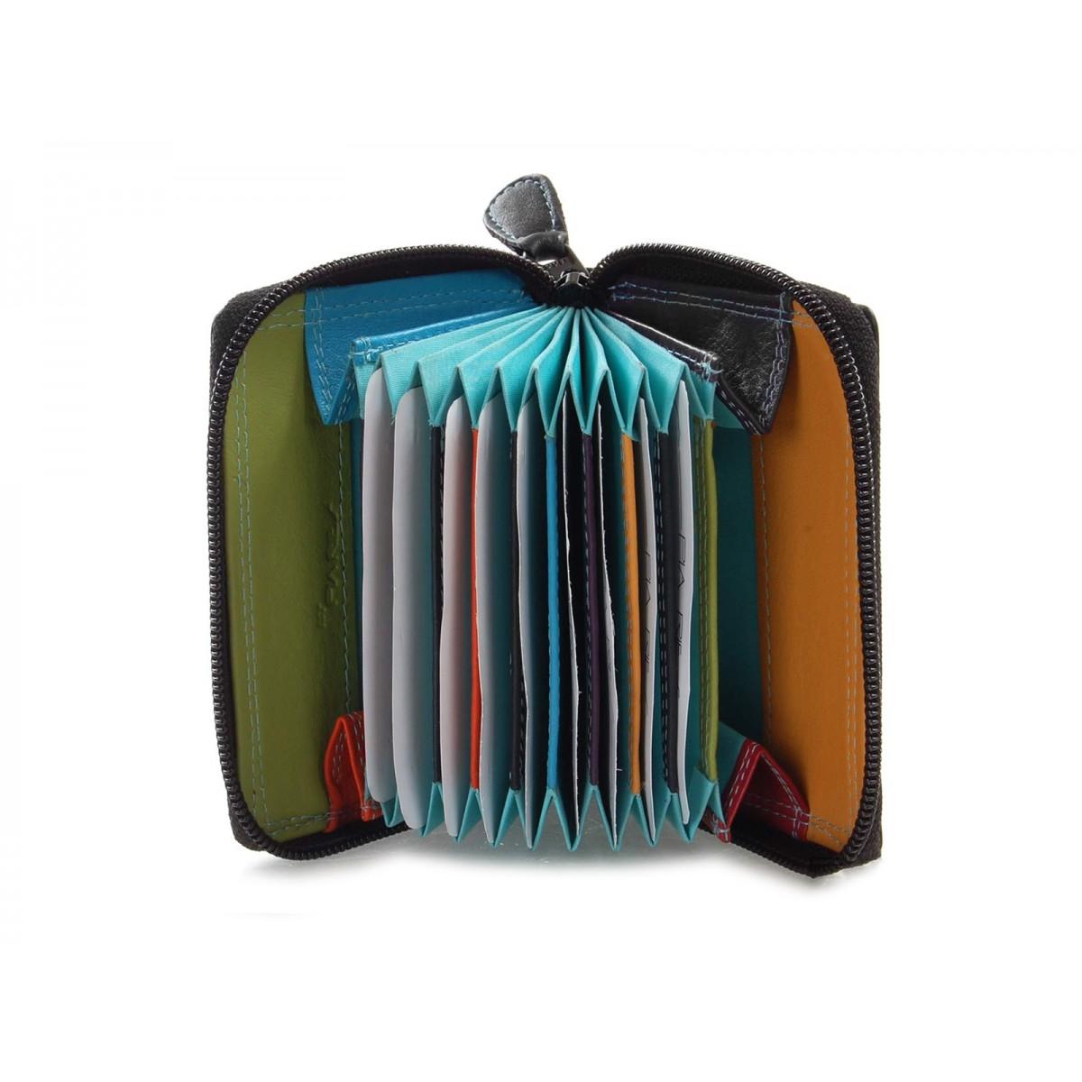 Pung og kortholder i tropical farver-31