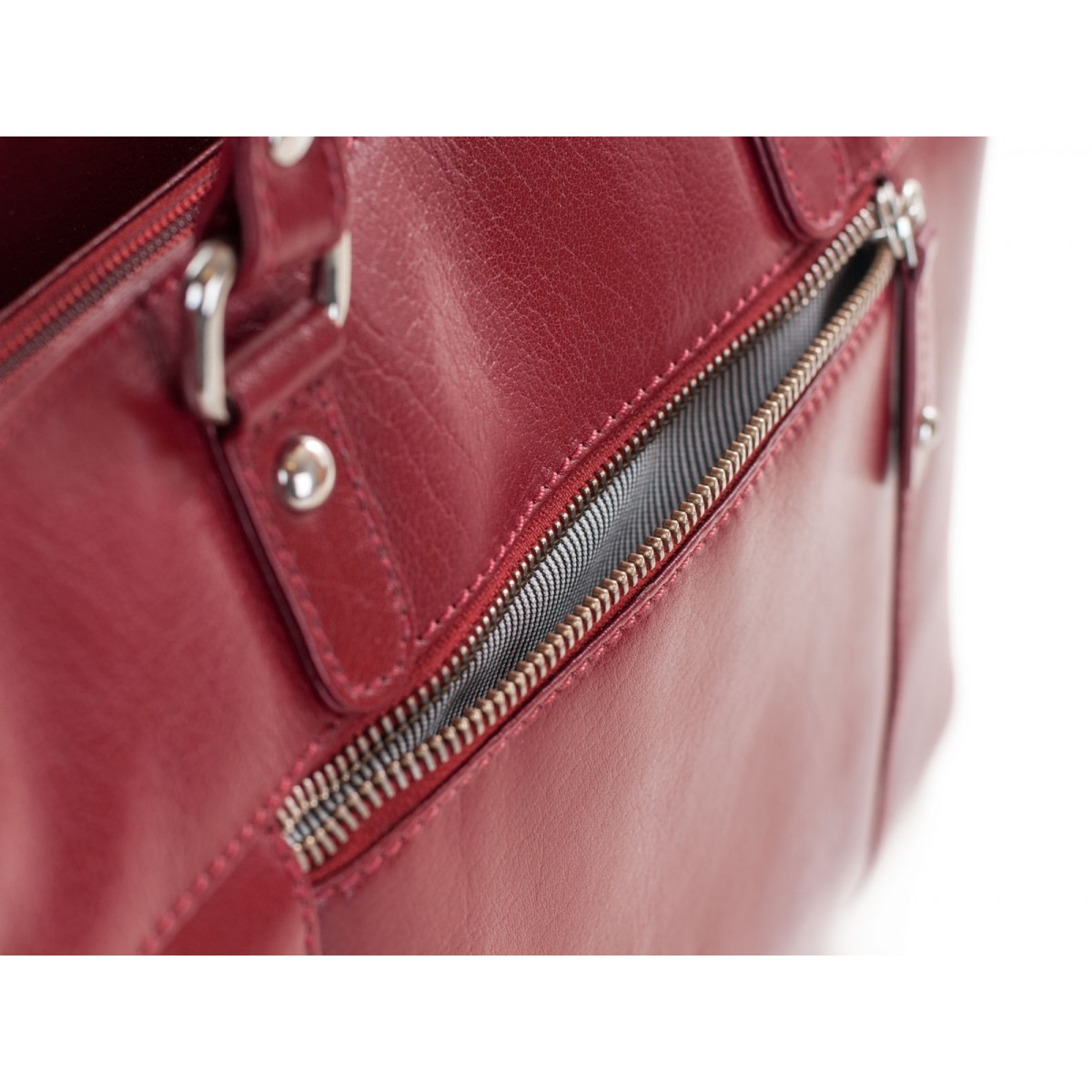 Lille håndtaske i rød-31