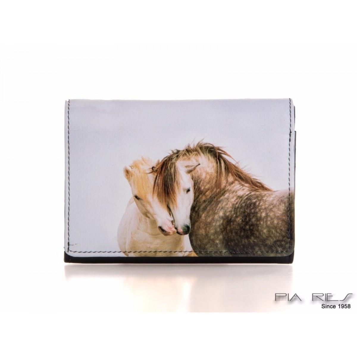 Fin damepung med hvidt hestemotiv-31