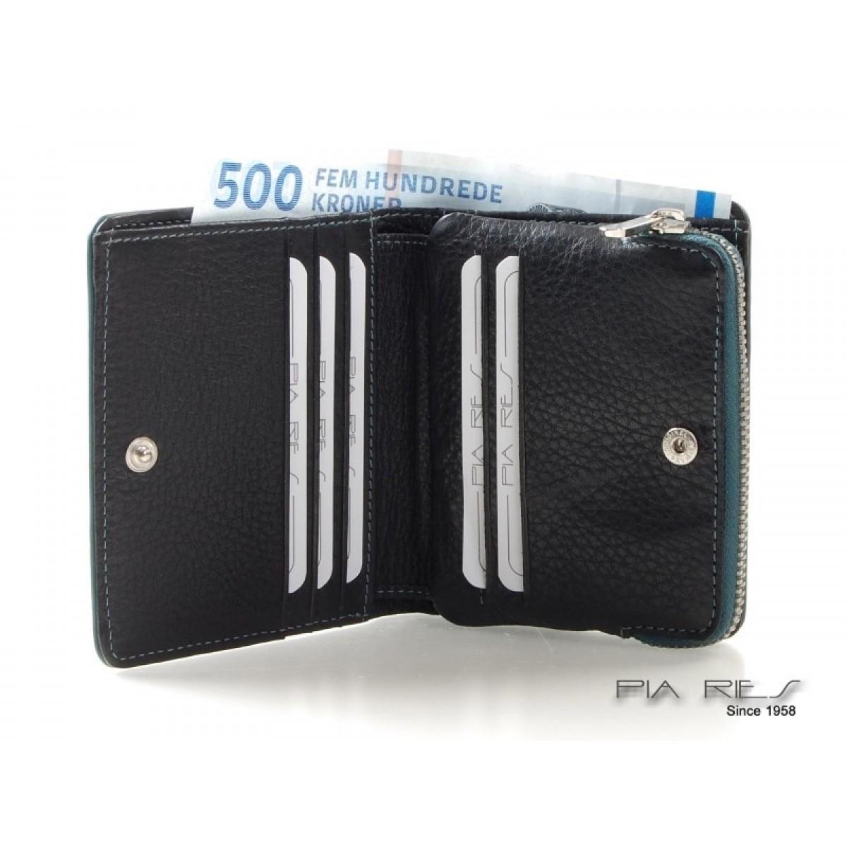 Lille pung til mønter og kort-34