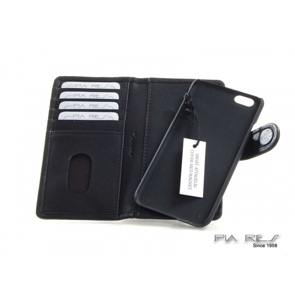 Etui I-phone 6 sort RFID-31