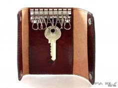 Nøglepung med 6 kroge brun-20