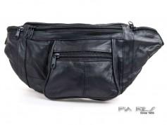 Bæltetaske med lynlås lommer for og bag-20