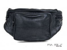 Bæltetaske med stor udvendig lynlås lomme-20