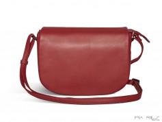 Taske med overslag rød-20