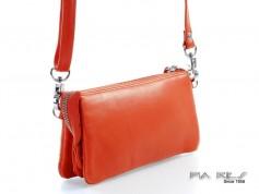 Skindtaske i flotte farver orange-20