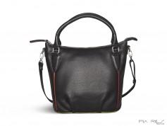 Tropical håndtaske med lang skulderrem-20