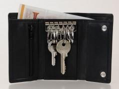 Nøglepung med 6 kroge og plads til sedler-20
